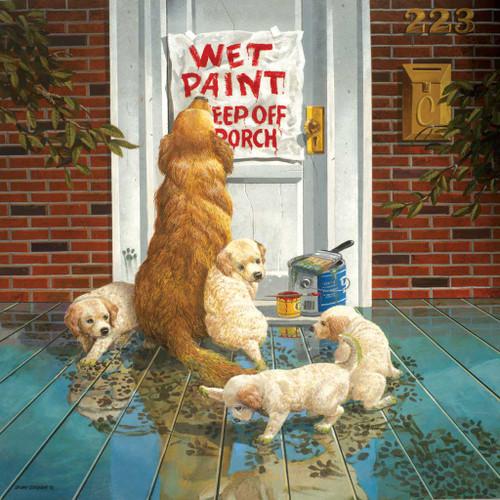 Jigsaw Puzzles - Wet Paint