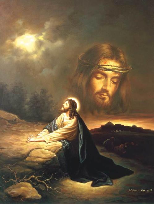 Jigsaw Puzzles - Praying at Gethsemane