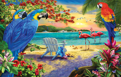 Jigsaw Puzzles - Secluded Beach