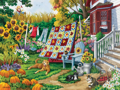 Jigsaw Puzzles - Country Autumn