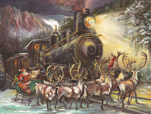 Jigsaw Puzzles - Santa Asking Directions