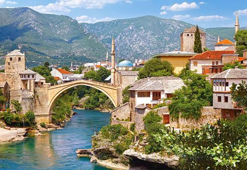 Jigsaw Puzzles - Mostar, Bosnia and Herzegovina