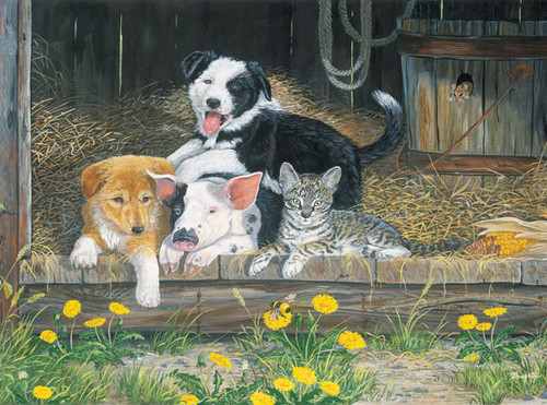 Jigsaw Puzzles for Kids - Best of Friends