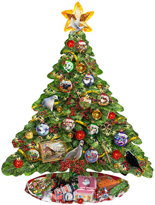 Jigsaw Puzzles - The Twelve Days of Christmas