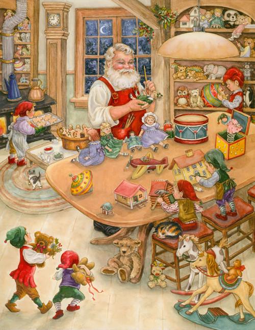 Christmas Puzzles - Santa's Toy Shop