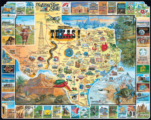 Jigsaw Puzzles - Best of Texas