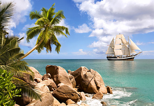 Jigsaw Puzzles - Sailing in Paradise