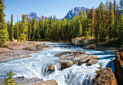 Jigsaw Puzzles - Athabasca River, Jasper National Park, Canada