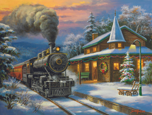 Holiday Ltd. - 500pc Jigsaw Puzzle By Sunsout