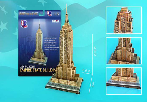 3D Puzzles - Empire State Building