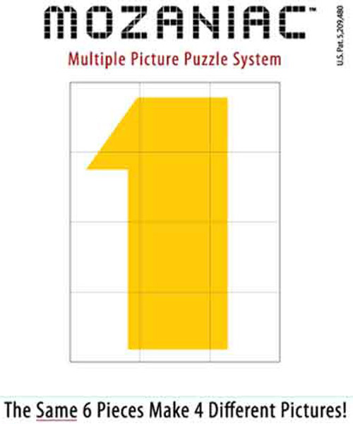 Jigsaw Puzzles - Colored Numbers