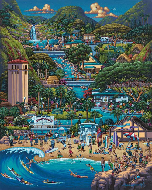 North Shore - 1000pc Jigsaw Puzzle by Dowdle