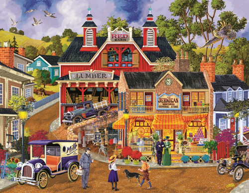 Jerrigan Bros General Store 1000 Pc Jigsaw Puzzle By