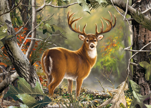 Realtree: Backcountry Buck - 1000pc Jigsaw Puzzle by Masterpieces - SeriousPuzzles.com