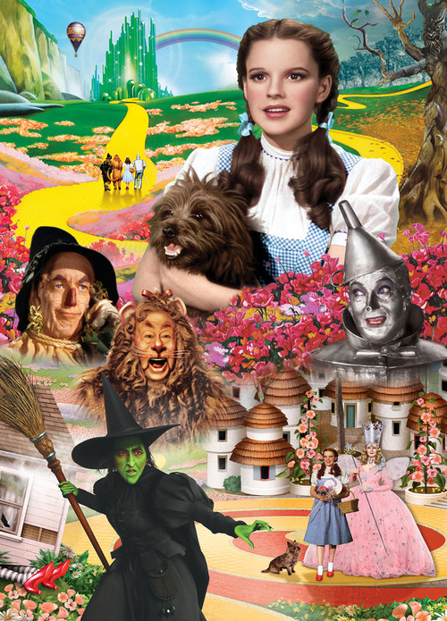 The Wizard of Oz Book Box 1000pc Jigsaw Puzzle by
