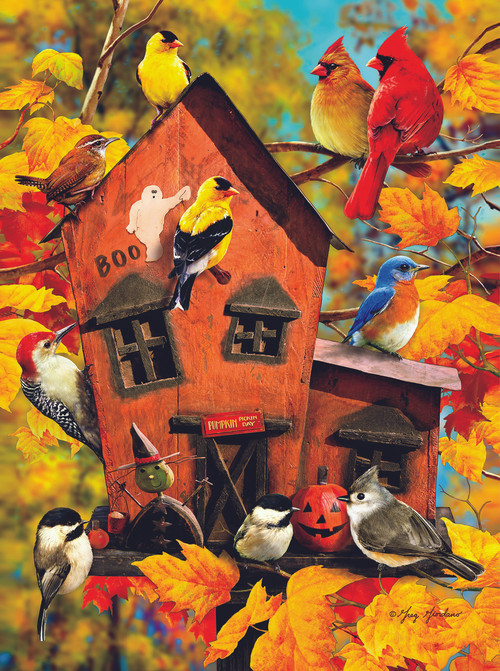 Fall Birds 1000pc Jigsaw Puzzle By Sunsout