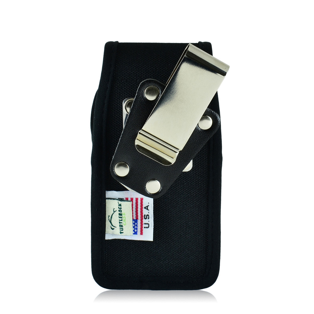 DuraXV+ Plus Vertical Nylon Holster Case Metal Clip