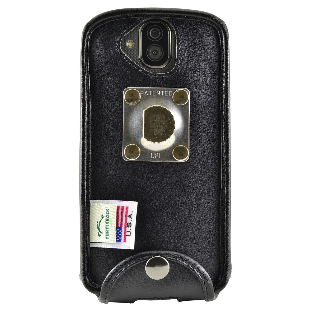 Kyocera DuraForce PRO Phone Fitted Case Black Leather Metal Clip