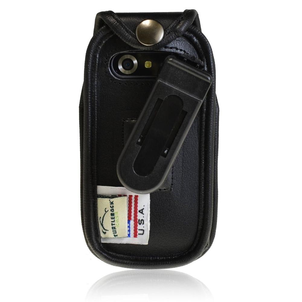 Pantech Breeze 4 IV  Executive Leather Case