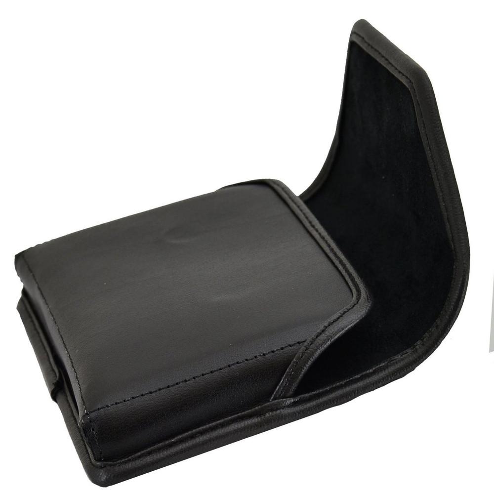 blackberry passport horizontal leather holster black belt