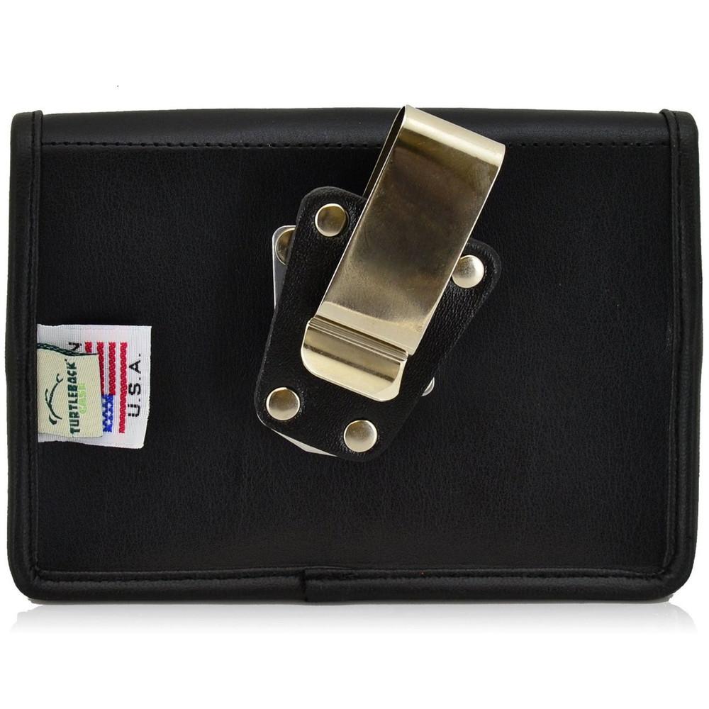 blackberry passport horizontal leather holster metal belt