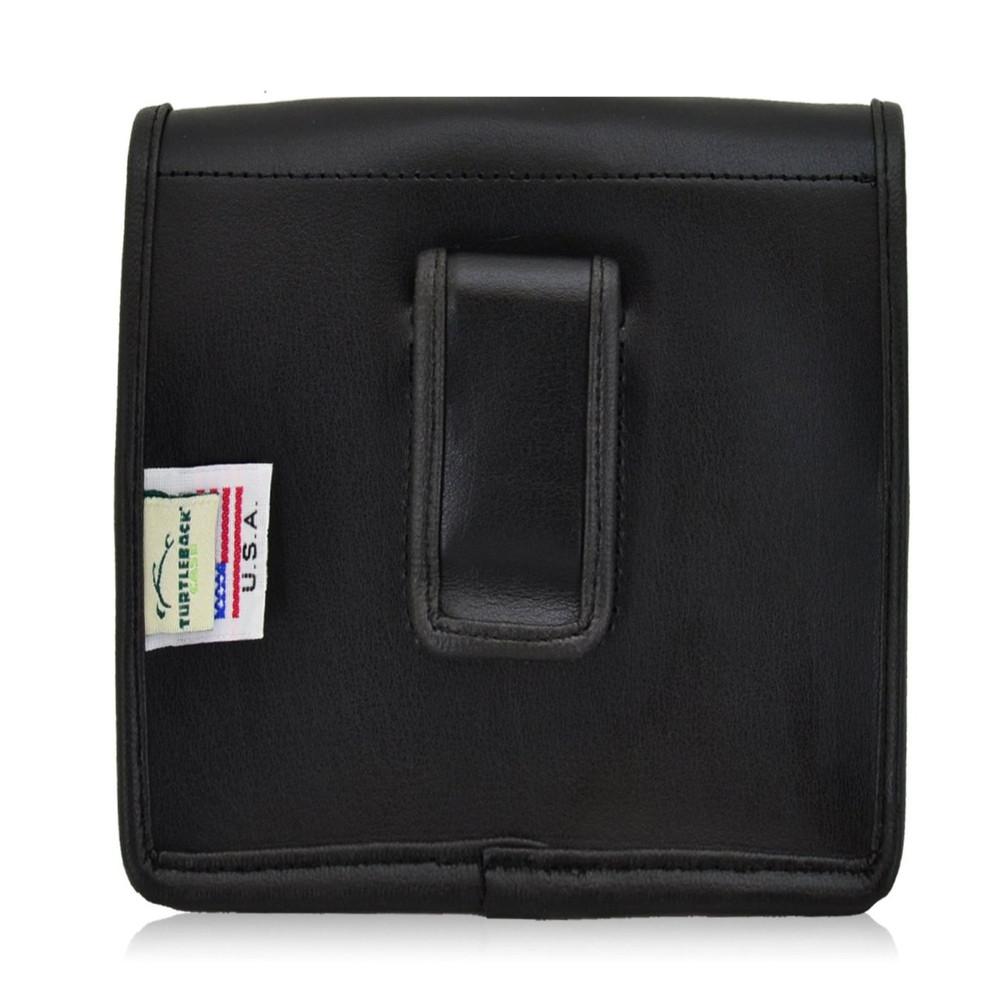 blackberry passport vertical leather holster black belt clip