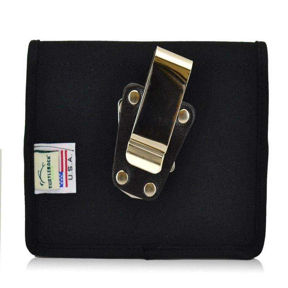 blackberry passport vertical nylon holster metal belt clip