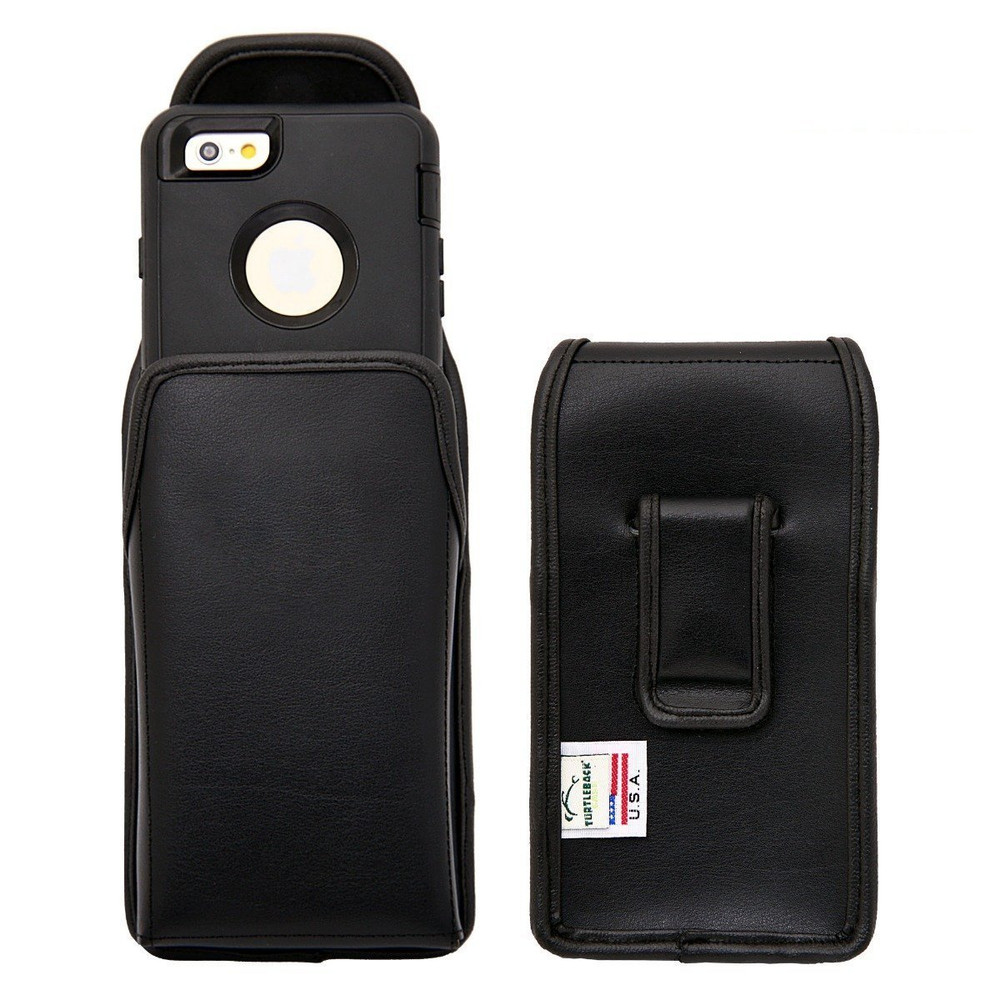 Vertical Leather Extended Holster For Apple Iphone 6 6s