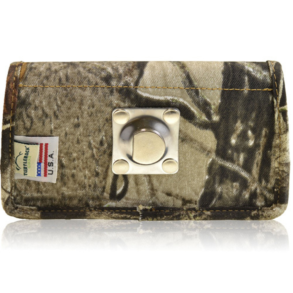 6.75 X 3.87 X 0.87in - Camouflage 2XL Nylon Horizontal Holster, Metal Belt Clip
