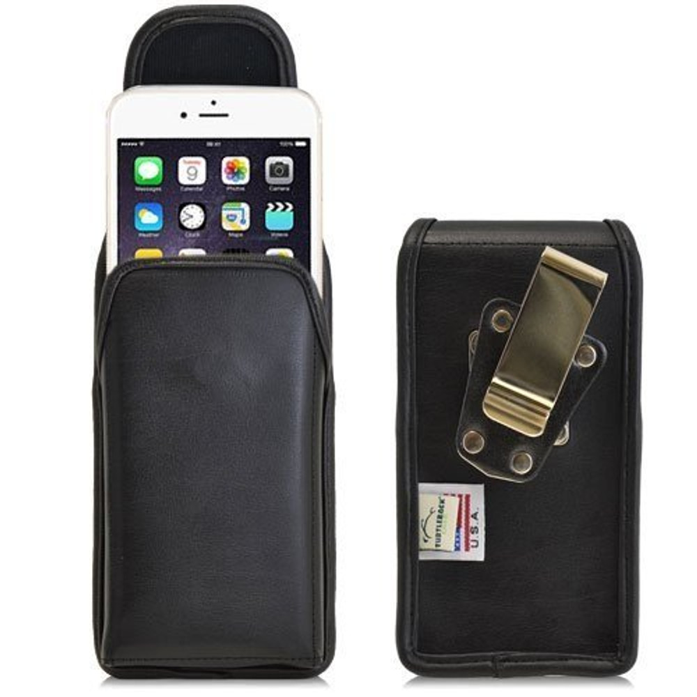 iPhone 6/6S Vertical Leather Rotating Clip Holster