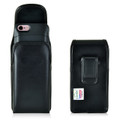 PhoneSuit Elite 6 Holster Metal Belt Clip Case Pouch Leather Vertical