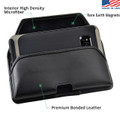 Galaxy S8 Leather Holster Case Metal Belt Clip