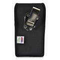 ZTE Blade Z Max Holster Metal Clip Case Pouch Nylon Vertical Turtleback
