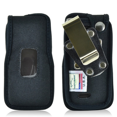 LG Exalt 2 VN370 Nylon Fitted Phone Case, Metal Belt Clip