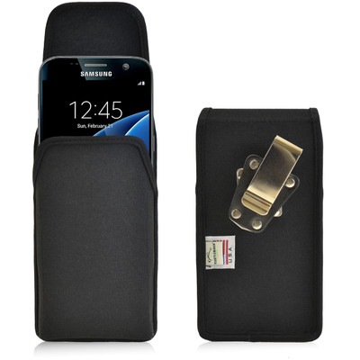 Galaxy S7 Vertical Nylon Rotating Clip Holster