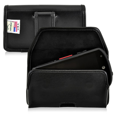 Kyocera DuraForce Holster Black Belt Clip Case Pouch Leather