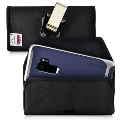 Galaxy S9 Plus / S8 Plus Nylon Holster Case Metal Belt Clip