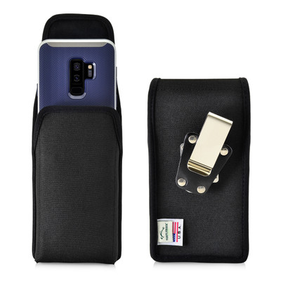 Galaxy S9 Plus / S8 Plus Nylon Vertical Holster Case Metal Belt Clip