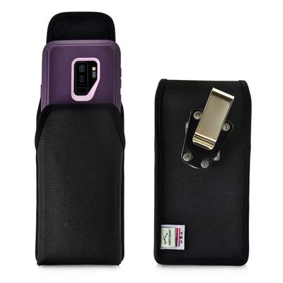 Galaxy S9 Plus Vertical Belt Clip Case for Otterbox DEFENDER Case Rotating Belt Clip Nylon Pouch