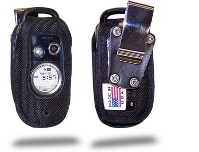 Case for Casio GzOne Type S Flip Phone Heavy Duty Phone Case with Rotating Metal Belt Clip