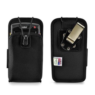 """Motorola Symbol MC70 Mobile Computer Case Nylon 2 Belt Clips, Metal Clip/Belt Loop Fits 6 1/2""""X 3 3/8""""X 1 3/4"""""""