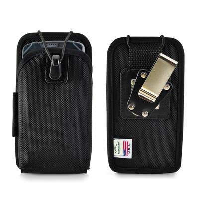 """Intermec CN51 CN50 Mobile Computer Case Nylon 2 Belt Clips, Metal Clip/Belt Loop Fits 6 1/4""""X 3 1/8""""X 1 1/8"""""""