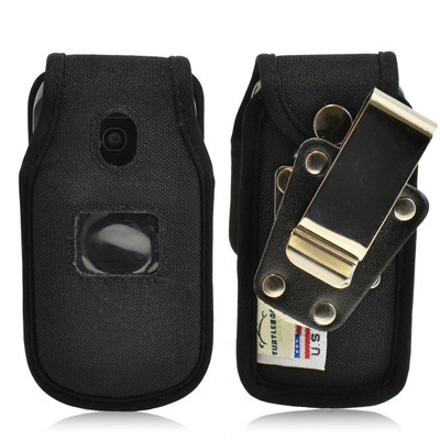 LG Envoy 2 II un160 Heavy Duty Nylon Phone Case with Rotating Metal Belt Clip