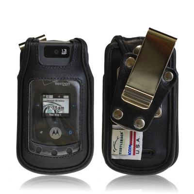 Motorola W755  Heavy Duty Leather Case