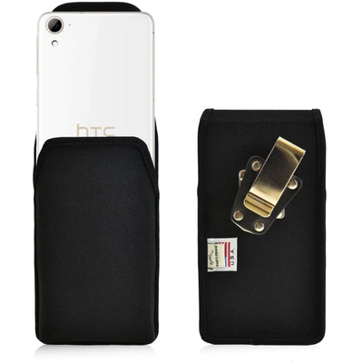 HTC Desire 826 Vertical Nylon Holster, Metal Belt Clip