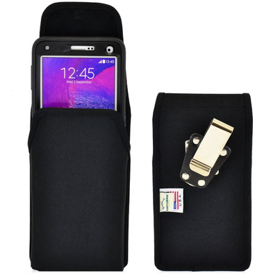 Note 4 Extended Vertical Nylon Rotating Clip Holster
