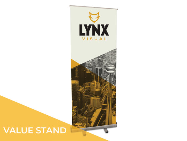 The 300 Series retractable banner stand is designed to accommodate your event or promotion/retail roll-out while offering ease of installation, quality value added while still at an affordable price point. Send us your graphics and have them printed on our premium anti-curl vinyl to get your  complete package, ready to go!