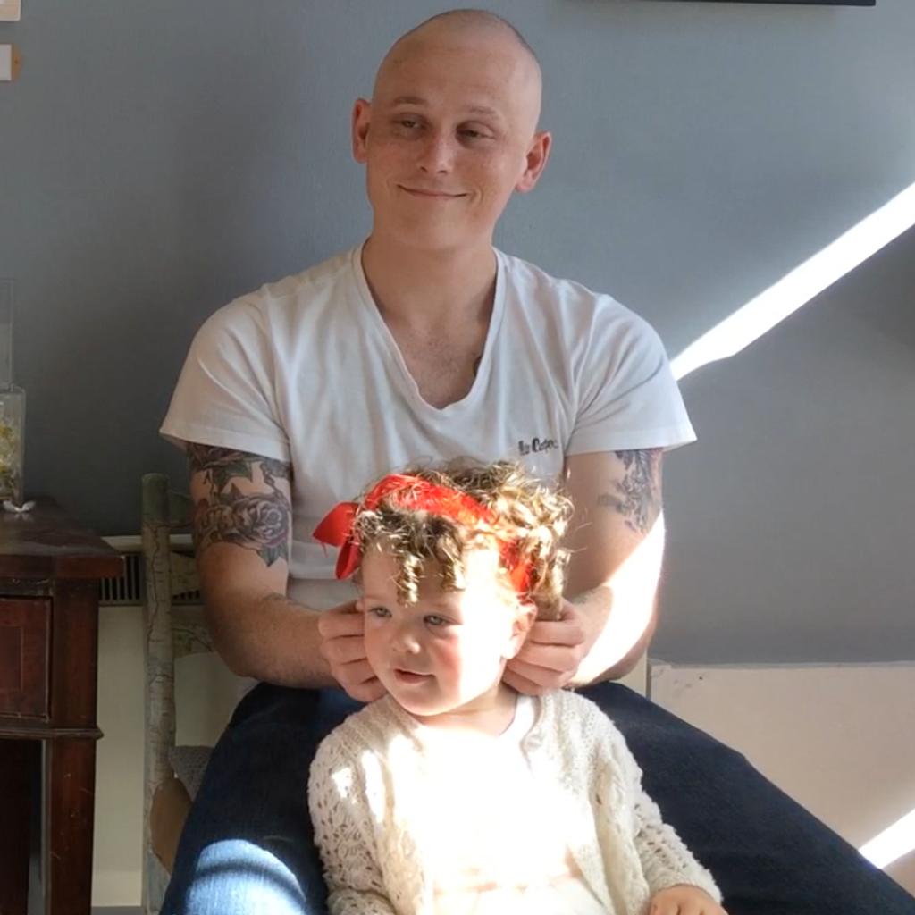 Living for his Little Girl
