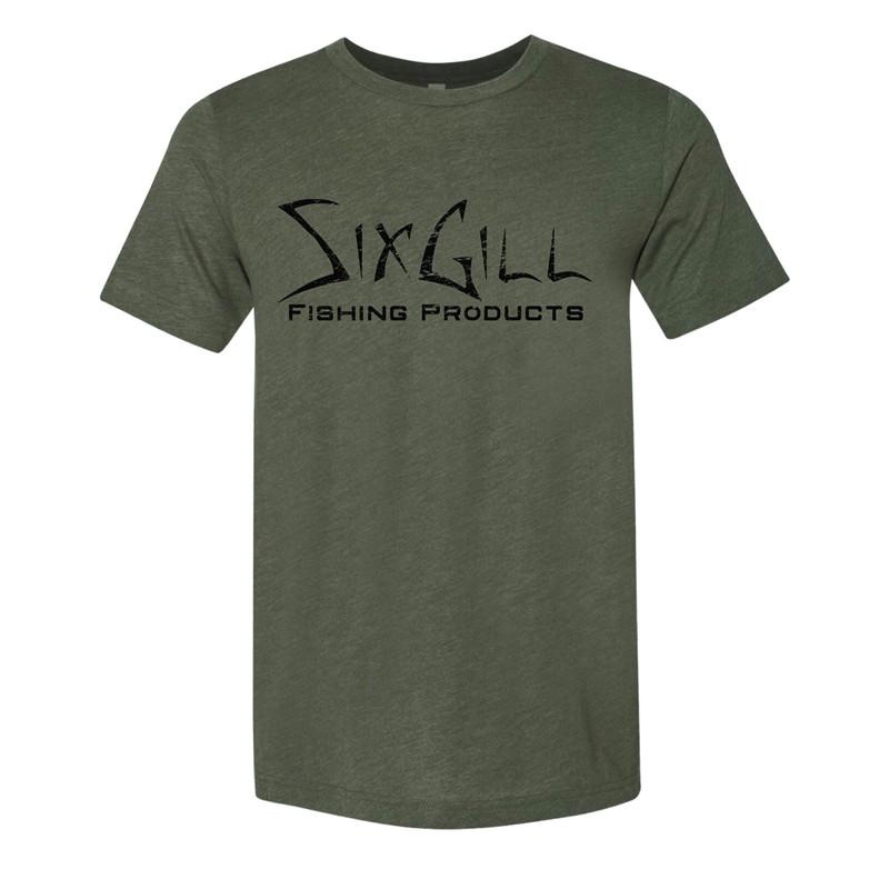 Sixgill T-Shirt - Military Green