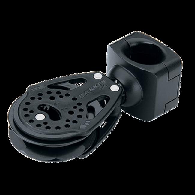 Harken 57mm Carbo ratchet block stanchion lead block assembly